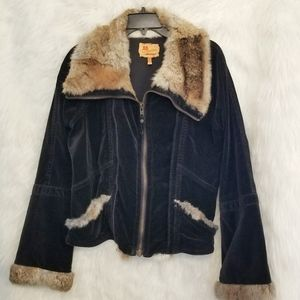 TWILL 20 Fur jacket Saks Fith Avenue